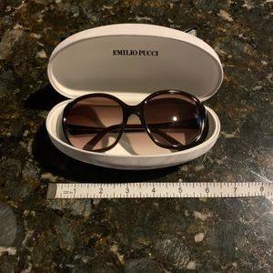 Emilio Pucci oversized sunglasses Authentic